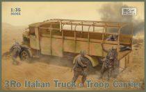 IBG 3Ro Italian Truck Troop Carrier makett