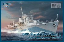 IBG ORP Slazak 1943 Hunt II class destroyer escort makett