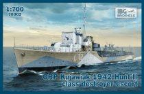 IBG ORP Kujawiak 1942 Hunt II class destroyer escort makett
