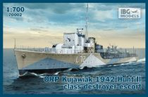 IBG ORP Kujawiak 1942 Hunt II class destroyer escort makett