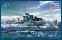 IBG HMS Ithuriel 1942 I-class Destroyer makett