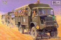 IBG Bedford QLT Troop Carrier makett
