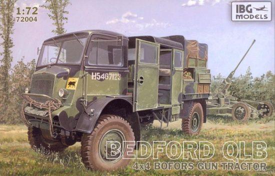 IBG Bedford QLB Bofors Gun Tractor makett