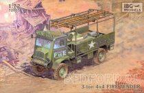IBG Bedford QL Fire Tender makett