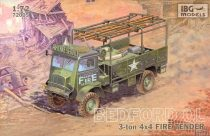 IBG Bedford QL Fire Tender makett