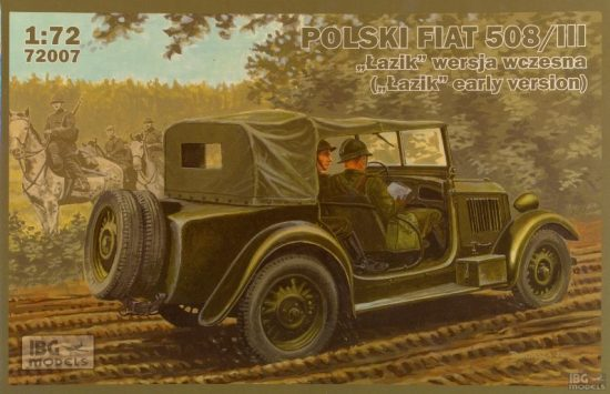 IBG Polski FIAT 508/III Lazik early version makett