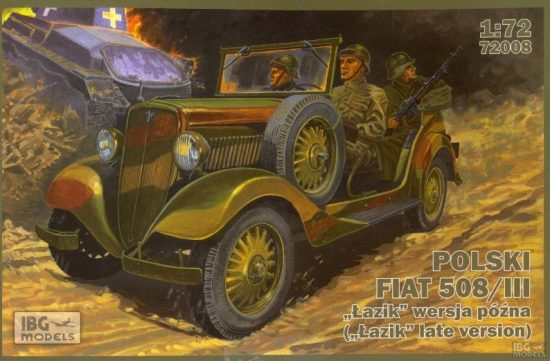 IBG PPolski FIAT 508/III Lazik late version makett