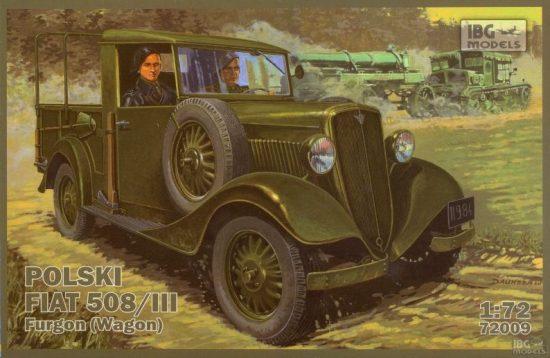 IBG Polski FIAT 508/III Furgon (Wagon) makett