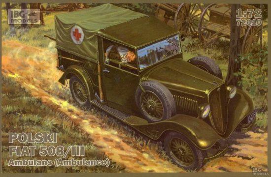 IBG Polski FIAT 508/III Ambulance makett