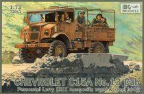 IBG Chevrolet C15A No.13 Cab Personnel Lorry makett