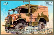 IBG Chevrolet C15A No.13 Cab Australian Pattern Wirel makett