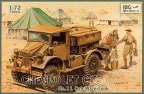 IBG Chevrolet C15A No.11 Cab Watertank makett
