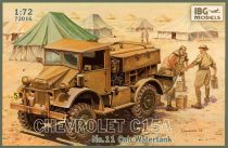 IBG Chevrolet C15A No.11 Cab Watertank makett