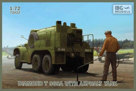 IBG DIAMOND T 968A with Asphalt Tank