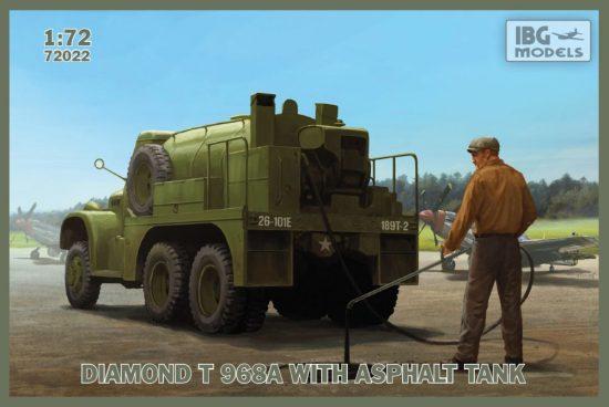 IBG DIAMOND T 968A with Asphalt Tank makett