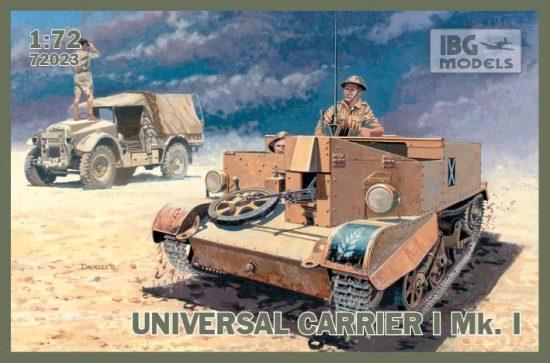 IBG Universal Carrier I Mk.I makett