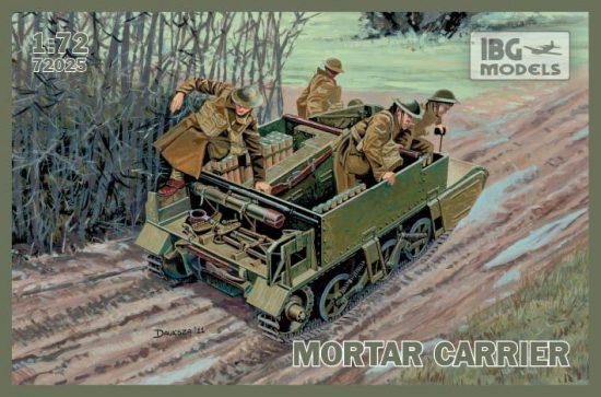 IBG Universal Carrier I Mk.II Mortar Carrier makett