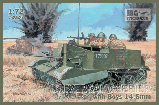 IBG Universal Carrier I Mk.I with Boys AT rifle makett