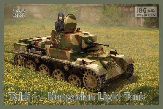 IBG Toldi I - Hungarian Light Tank makett