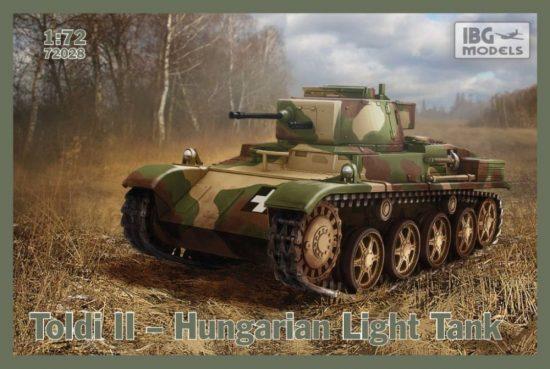 IBG Toldi II - Hungarian Light Tank makett