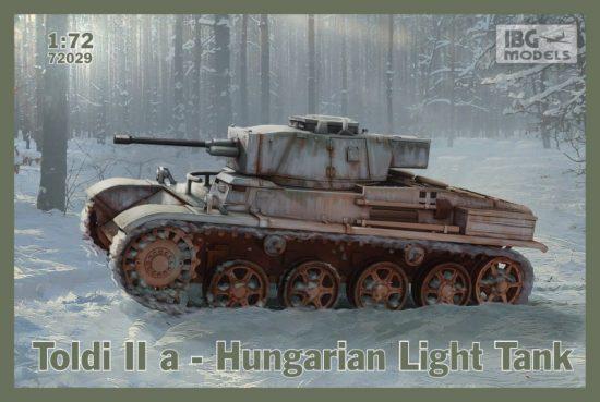IBG Toldi IIa - Hungarian Light Tank makett