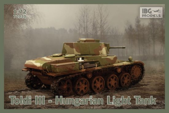 IBG Toldi III - Hungarian Light Tank makett