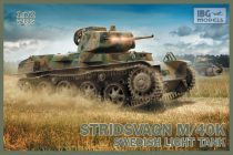 IBG Stridsvagn M/40 K Swedish light tank makett