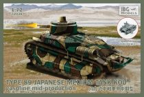IBG Type-89 Japanese Medium tank KOU-gasoline Mid makett
