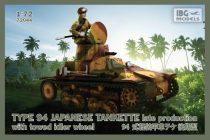 IBG Type-94 Japanese Tankette - late makett