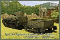 IBG Type-94 Japanese tankette with trailers makett