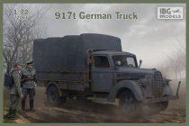 IBG 917t German Truck makett