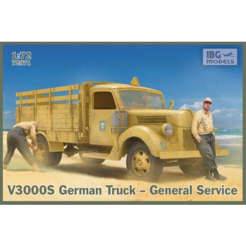 IBG V3000S German Truck - General Service makett