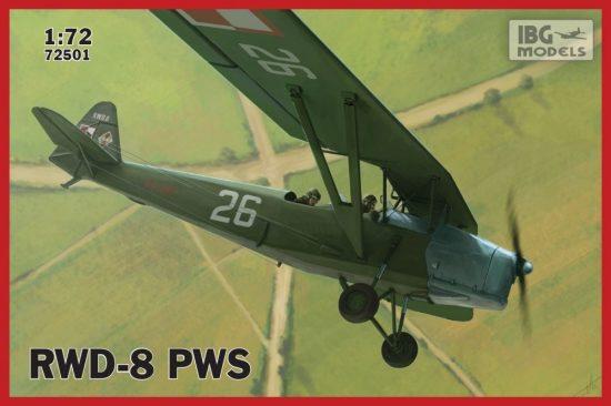 IBG RWD-8 PWS makett