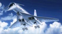 ICM Tupolev Tu-144 Soviet Supersonic Passenger Aircraft makett
