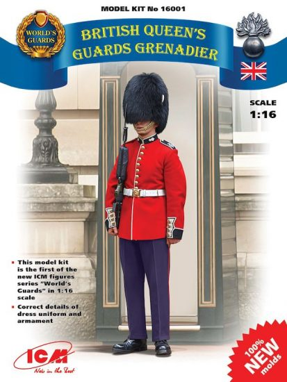 ICM British Queen's Guards Grenadier