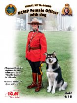 ICM RCMP Female Officer with dog