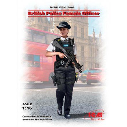 ICM British Police Female Officer
