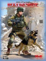 """ICM IDF K-9 Unitz """"OKETZ"""" with dog"""