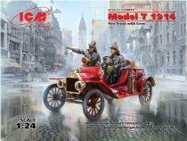 ICM Model T 1914 Fire Truck with Crew makett