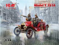 ICM Model T 1914 Fire Truck with Crew makett