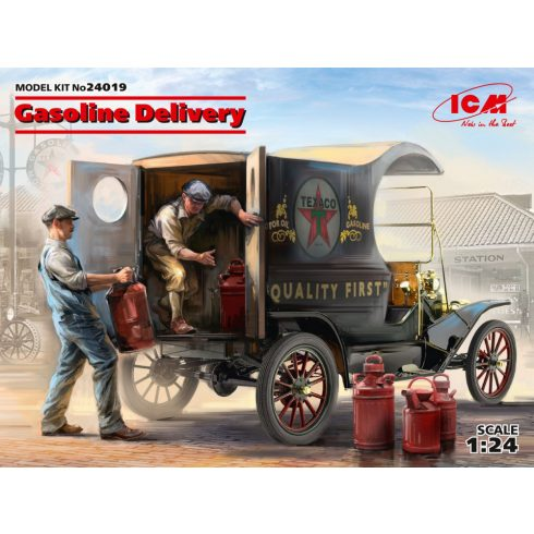 ICM Gasoline Delivery, Model T 1912 Delivery makett