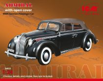 ICM Admiral Cabriolet with open cover makett