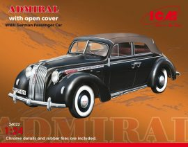 ICM Admiral Cabriolet with open cover