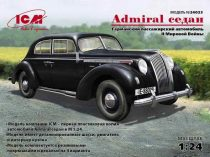 ICM Admiral Saloon, WWII German passenger car makett