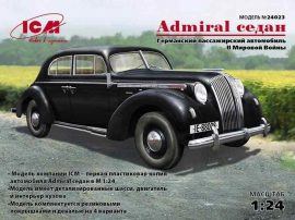 ICM Admiral Saloon, WWII German passenger car