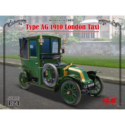 ICM Type AG 1910 London Taxi makett