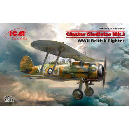ICM Gloster Gladiator Mk.I makett