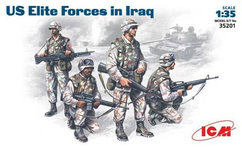 ICM US Elite forces in Iraq