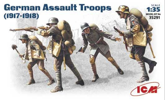 ICM German Assault Troops (1917-18)