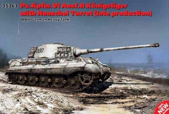 ICM Pz.Kpfw.VI Ausf.B King Tiger w/Henschel turret Late makett